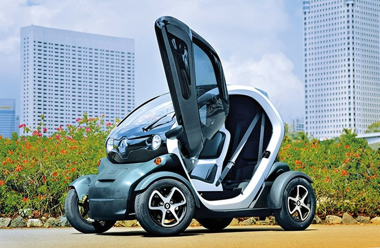 Rent Renault Twizy electric St Barts